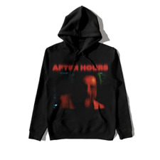 THE WEEKND ASAP ROCKY X ART DEALER FOR AWGE HOODIE 003 BLACK LARGE