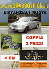 KIT Distanziali Ruote fuoristrada 4x4 Kia Carnival Sportage 2004 Opirus 4 cm