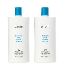 (2EA) x [MAKE P:REM] make prem UV Defense me. Blue ray Sun Fluid SPF 50+ PA++++