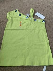 NWT sz M 7/8 Gymboree green shirt w/ floral embroidery GT-8