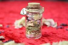 Small Love Spell Jar Gift Willow Malone Rose Petals Rose Quartz Valentines Gift