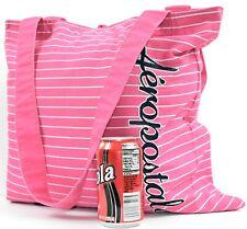 AEROPOSTALE XL Hot Pink WASHABLE Beach Travel Tote Bag b2