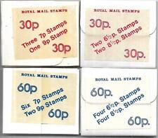 More details for gb-1977/78 - experimental machine stamps - all 4 issues-complete -scarce -mnh