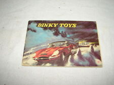 VINTAGE DINKY TOYS CAR TRUCK COLLECTOR'S CATALOG PRICE GUIDE BOOKLET USA #10
