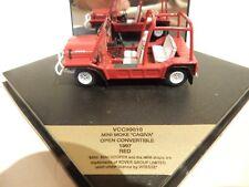 """VITESSE VCC99010 1997 MINI MOKE OPEN """"CAGIVA"""" IN RED. 20/2500 1/43 SCALE. MIB"""