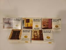 Vintage The House of Miniatures Queen Anne 3 & 2 Other items
