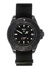 MWC GMT 300m PVD   Quartz Military Watch   Screw Down Crown & Case Back   Date