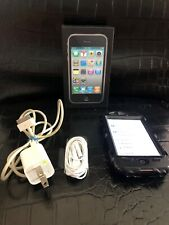 WORKING Apple iPhone 3GS 8GB Black AT&T Phone Great Condition In Box With Box
