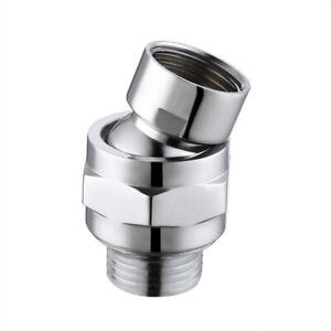 Shower Head Swivel Ball Adapter Brass Ball Swivel Joints Adjustable Shower Arm