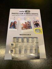 Merkury Innovations Mi-Fcct2-925 Mini Led Photo Clip String Lights, White