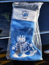 """Detroit Lions 24"""" Nfl Holiday Stocking"""