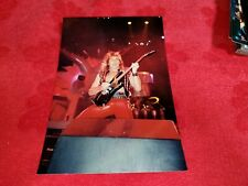 Vintage Photo Judas Priest From Long Beach Arena Taken By Me Lot #33