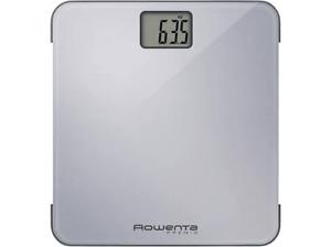 Báscula de baño - Rowenta BS1220, hasta 160kg, extraplana, borde de seguridad