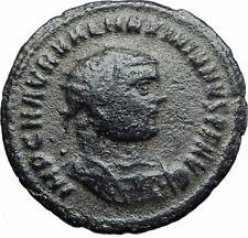 MAXIMIAN 297AD Antioch Authentic Ancient Roman Coin JUPITER ZEUS Victory i80003