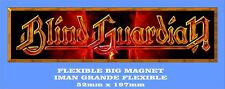 BLIND GUARDIAN GRANDE 52mm X 197mm FLEXIBLE BIG MAGNET A0094