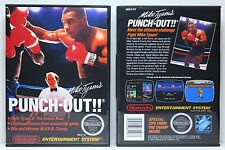 Mike Tyson's Punch-Out!! - Nintendo NES Custom Case - *NO GAME*