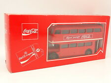 Solido 1/50 - Bus AEC Double Decker Autobus Londonien Coca Cola
