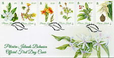 Pitcairn Islands 2014 FDC Botanica 6v Set Cover Flowers Plants Flora