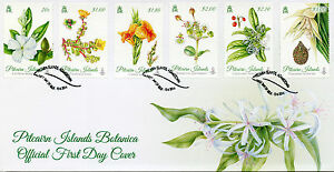 Pitcairn Islands 2014 FDC Botanica 6v Set Cover Flowers Plants Flora