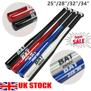 "Top Quality 25""28"" 32"" 34"" Aluminium Baseball Bat Lightweight Full Size Youth UK"
