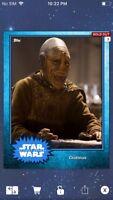 Topps Star Wars Digital Card Trader Blue Steel Cratinus Base 4 Variant