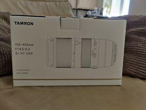Tamron 100-400mm F/4.5-6.3 Di VC USD For Canon EF mount (A035E)
