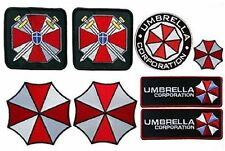 Resident Evil Umbrella CORPORATION Costume Full [Set of 8] patches 8 pc patch