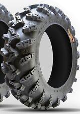 Set of (2) 25-8-12 & (2) 25-10-12 GBC Grim Reaper 8-ply Radial ATV UTV Tires