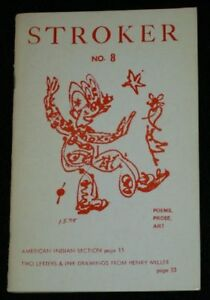 STROKER No. 8 - Poems Prose Art - 1978-79 Double Issue