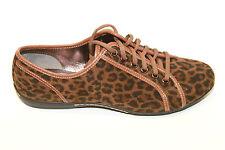 Sofft Portland 1067280 Dark Brown Leopard Lace Casual Oxfords Sz 6m NWOB 9