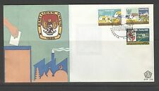 INDONESIA 1982 FDC SHP 109 + BLANK