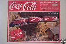 Coca Cola LGB Super Set Limited Edition Model Train NIB
