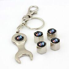 For Buick logo Tire wheel Valve cap stems & keychain Black Century LaCrosse