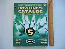 Billiard & Bowling Institute of America Bowling's Catalog 2016-2017 Vol. 5