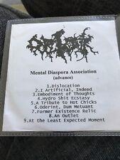 ORTANK - Mental Diaspora Association - CDR - Death Metal Grindcore
