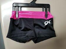 Gk Elite Gymnastic Cheer Workout Dance shorts child Small Cs