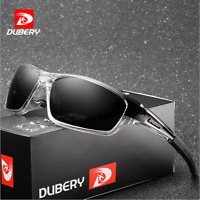 DUBERY Mens Sport Polarized Sunglasses Outdoor Riding Driving Goggles Glasses