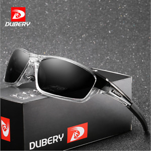 DUBERY Mens Sport Polarized Sunglasses Outdoor Cycling Driving Glasses Goggles