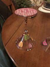 lolita hand painted wine glasses