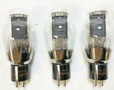 Great Match Lot of 3 NOS Large Bottle RCA Type 50 Triode Tubes (311)
