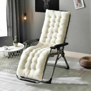 Velvet Thicken Armchair Sofa Cushion Office Chair Seat Mat Recliner Massage Pad