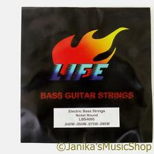 Electric bass guitar strings 040-095 4 string light set for precision or jazz