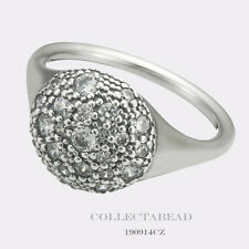 Authentic Pandora Silver CZ Cosmic Stars Ring Size 50 (5) 190914CZ