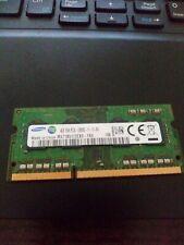 Samsung 4GB DDR3 1Rx8 PC3L-12800S M471B5173EB0-YK0 SO-DIMM Laptop RAM698656-TC0