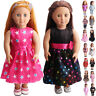 """Handmade Doll Clothes Dress Pajama Shoes Bag Accessory for 18""""Inch American Girl"""