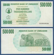SIMBABWE / ZIMBABWE 500000 Dollars 2007  UNC  P.51