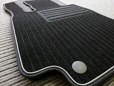 Lengenfelder Rips Fußmatten für Mercedes Benz W205 S205 C-Klasse AMG SPORT + NEU