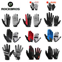 RockBros Winter Cycling Full Finger Gloves Touch Screen Riding Bike Thermal Warm