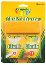 NEW Crayola Chalk And Duster Set from Mr Toys