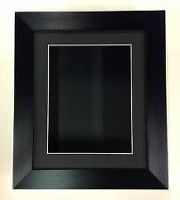 12x10 BLACK  (55mm) DEEP 3D SHADOW BOX,CASTS,FLOWERS,MEDALS,3D FRAMING